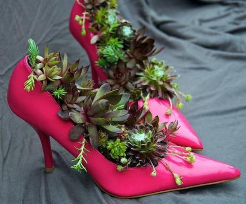 10 idee creative per riciclare le scarpe