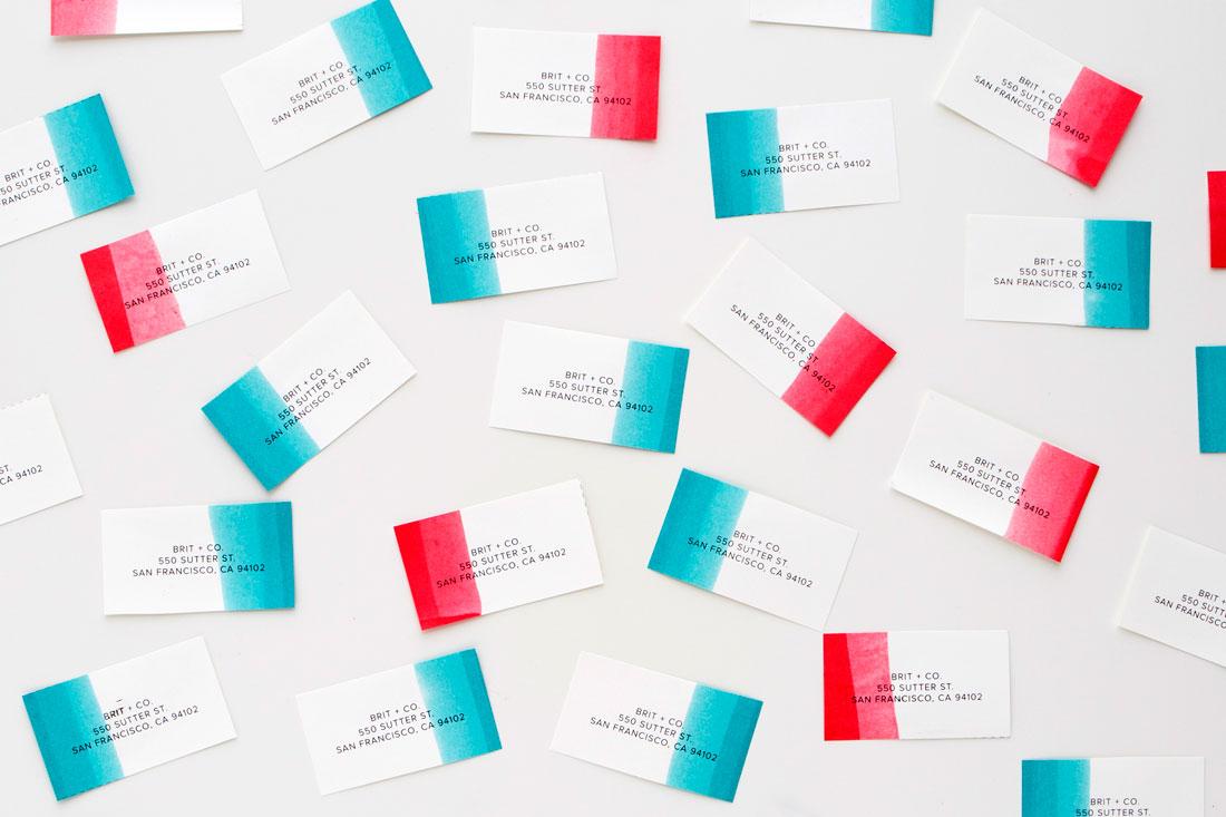 Biglietti da visita creativi e personalizzati