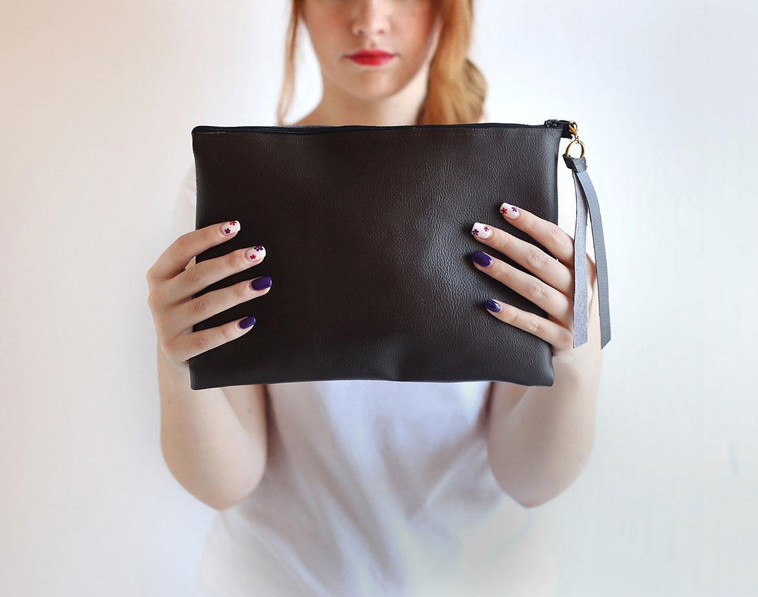 Elegante borsa a pochette fai da te - Fai da Te Creativo