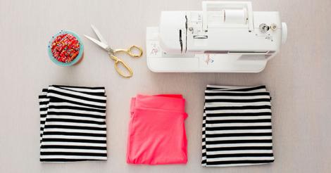 Come trasformare tre t-shirt in un bellissimo vestito