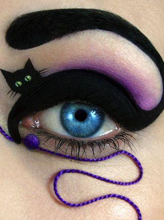 Make up per la festa di Halloween: 10 idee per truccare gli occhi