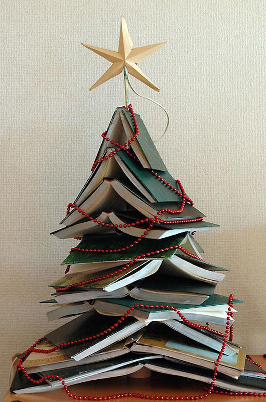 8 alberi di Natale creativi e fai da te