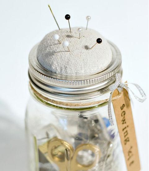 16 utilizzi alternativi dei barattoli di vetro