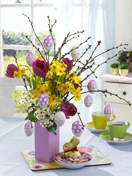 12 centrotavola fai da te per Pasqua