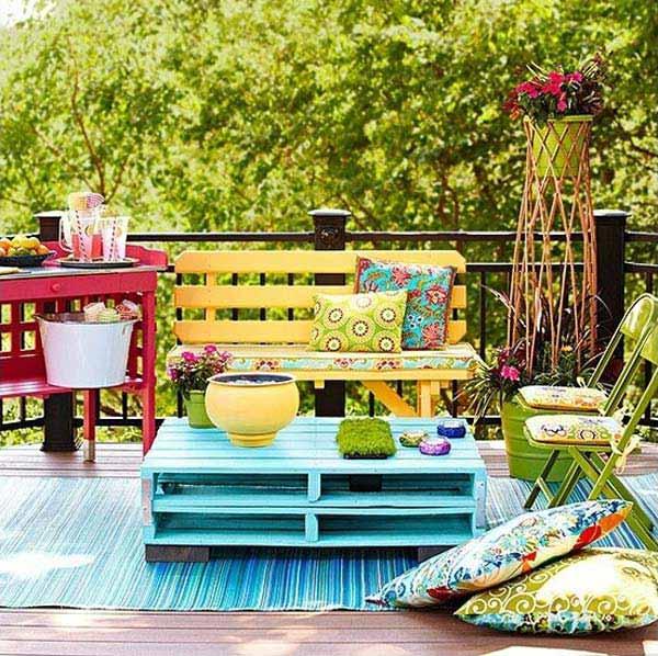 giardino balcone piccolo 12 idee fai da te fai da te per il balcone ...