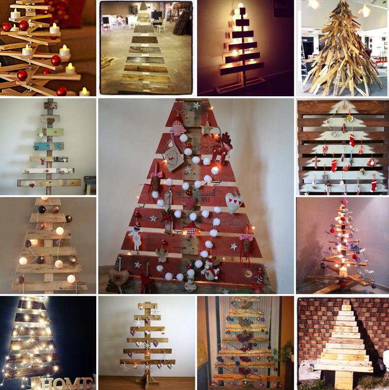 Pallet in versione natalizia: 15 progetti originali