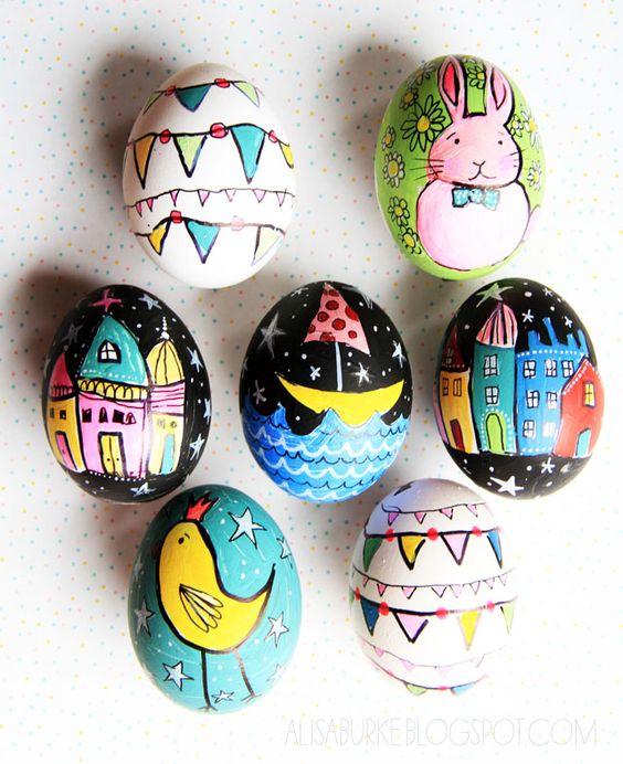 Come dipingere le uova per Pasqua