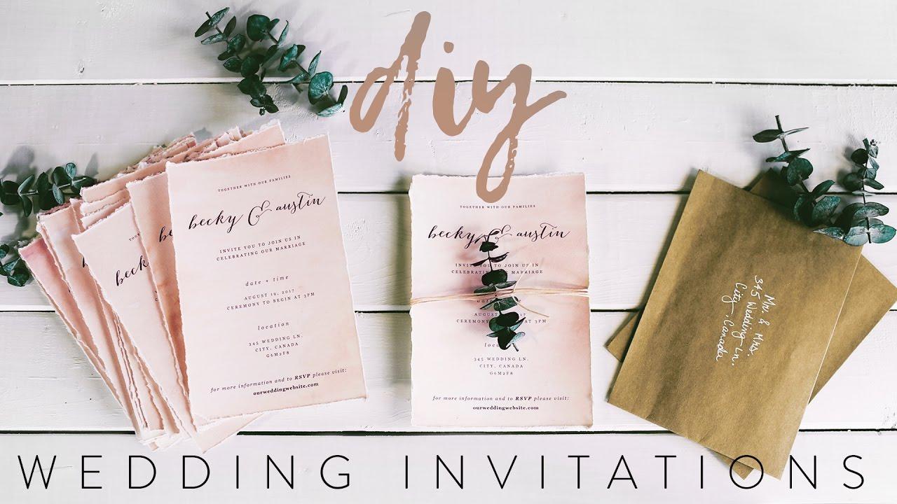 Partecipazioni di nozze fai da te
