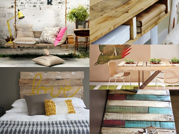 Come utilizzare i bancali di legno pe67 pineglen - Come utilizzare i pallet per arredare casa ...