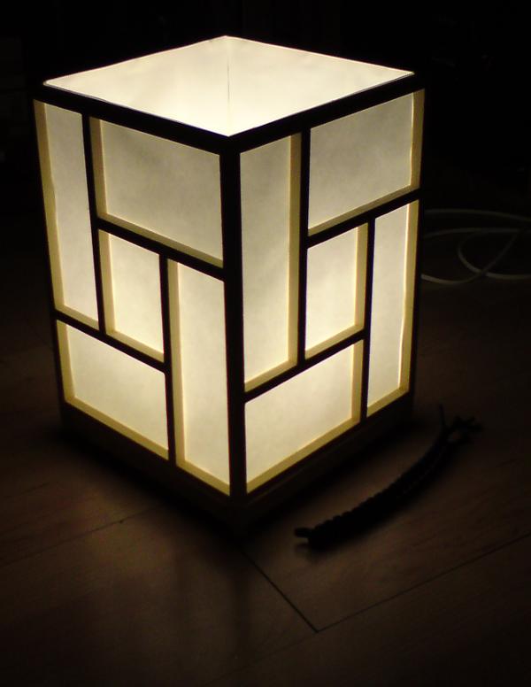 Come creare una lampada da tavolo in stile orientale - Fai da Te Creativo