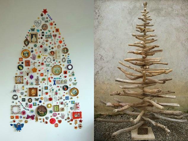 Alberi Di Natale Fai Da Te Originali.6 Alberi Di Natale Creativi E Fai Da Te Fai Da Te Creativo