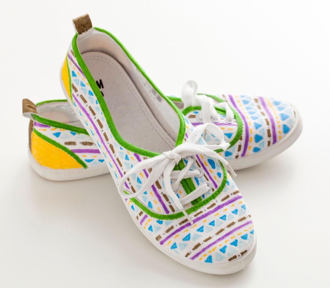 Decorazioni fai da te per le scarpe