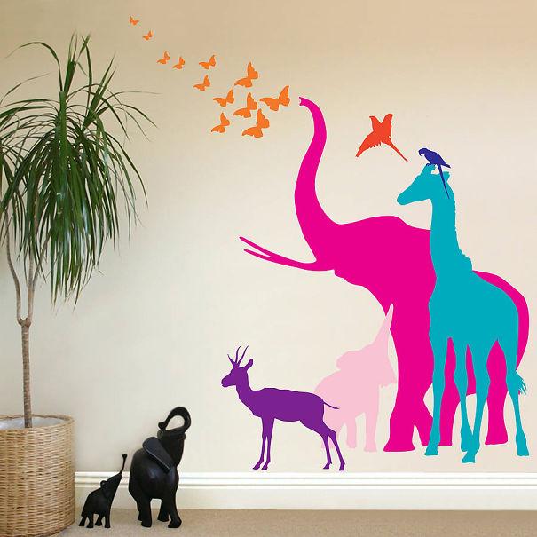 Stickers per decorare le pareti: 15 idee creative