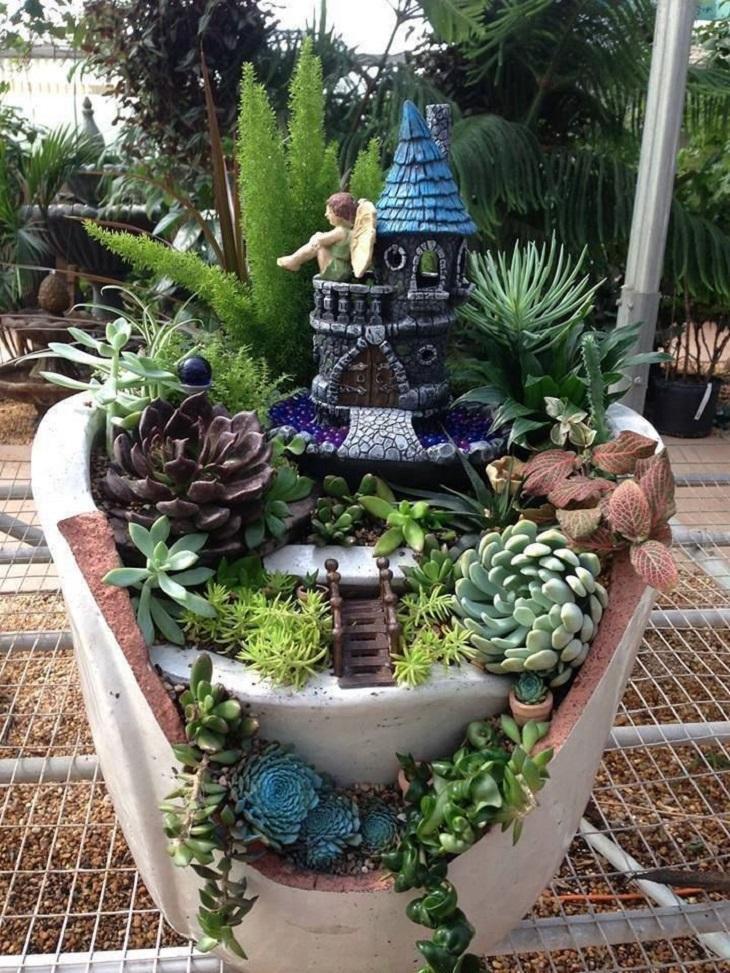 7 mini giardini incantati fai da te