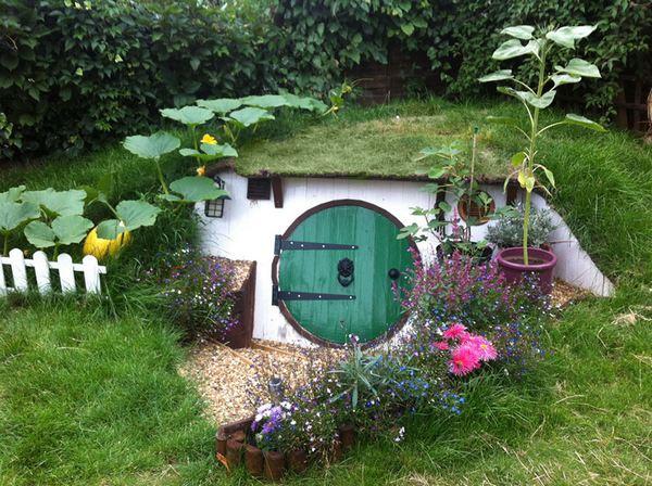 Come costruire la casa degli Hobbit in giardino