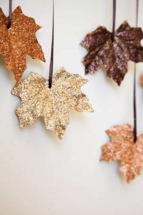 Decorare con le foglie 17 progetti creativi fai da te - Portare sinonimo ...