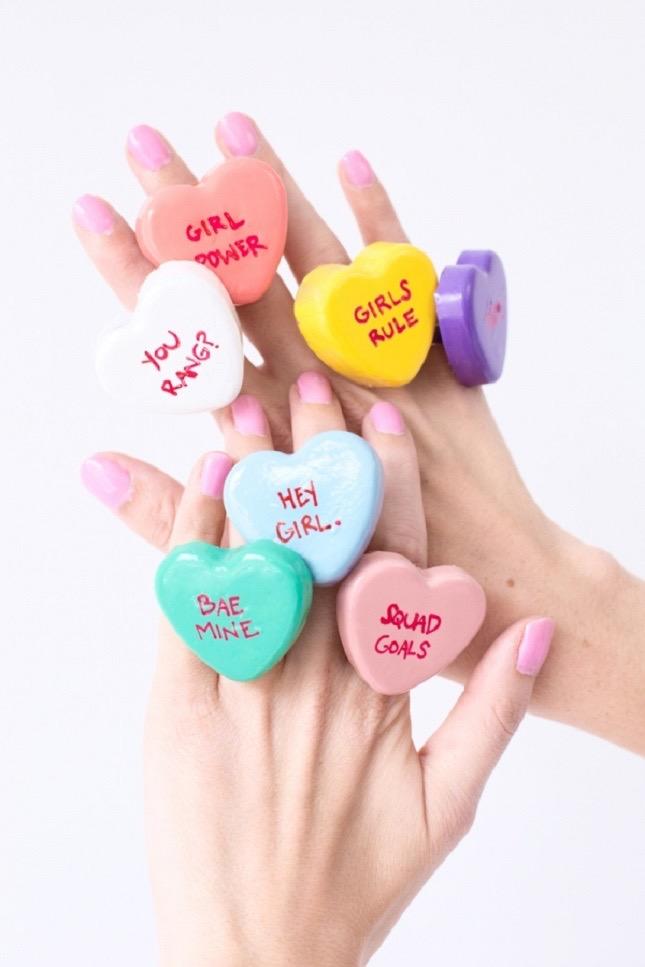 Anelli di San Valentino fai da te