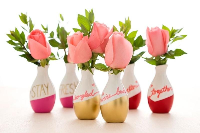 Vasetti di san valentino fai da te