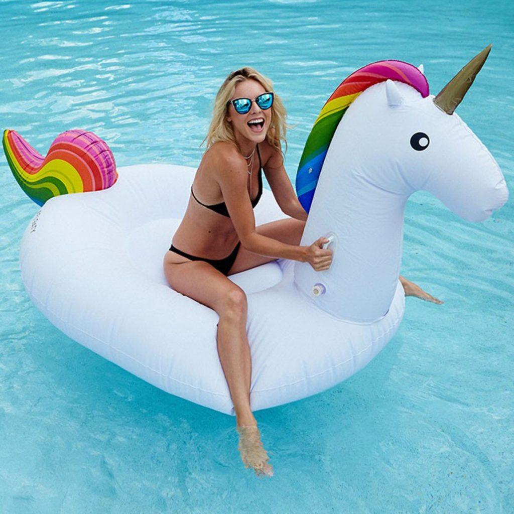 Idee regalo: Unicorno gonfiabile su troppotogo