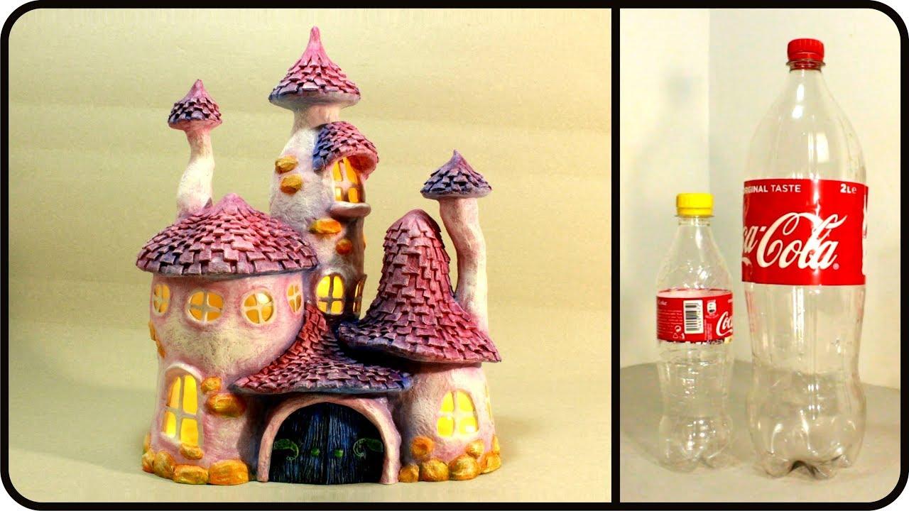 Casette fatate con le bottiglie della Coca Cola
