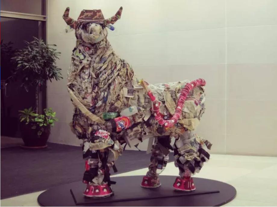 Quando la spazzatura diventa arte