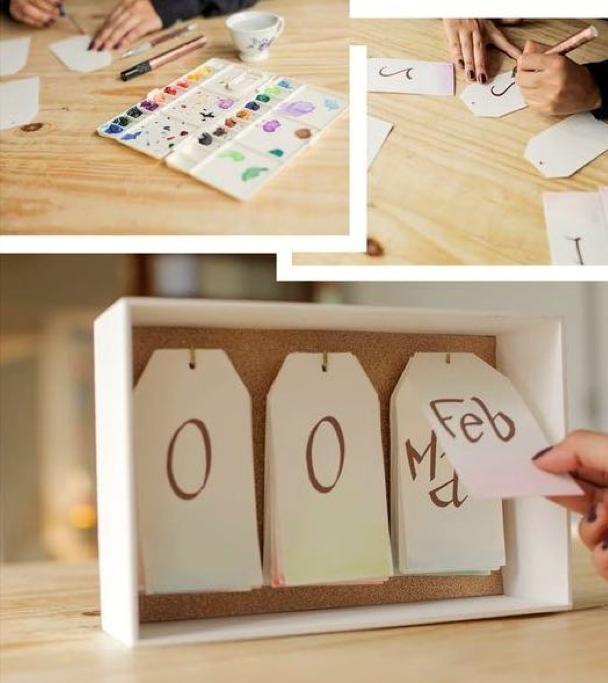 Come fare un calendario personalizzato